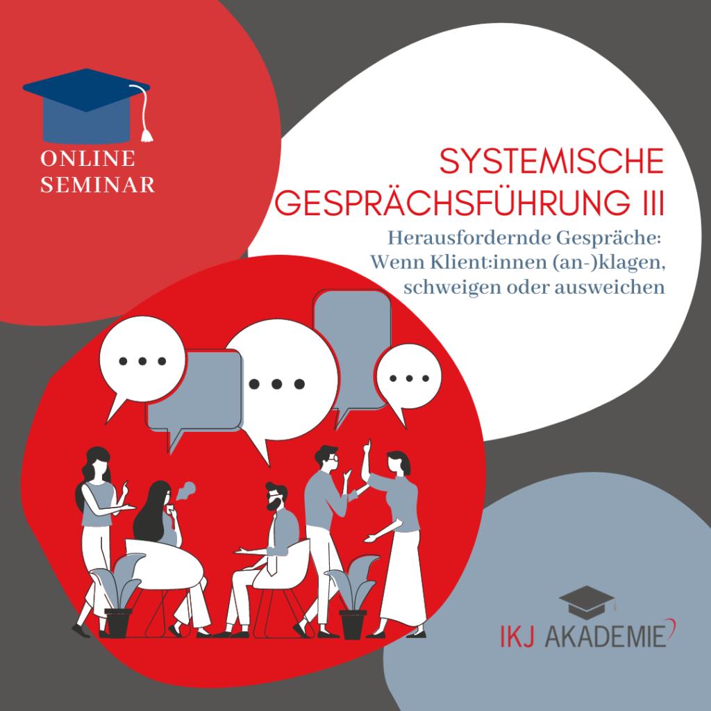 Systemische Gesprächsführung III